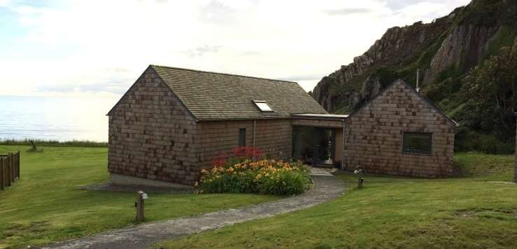 Exterior, Shingle Lodge, KNockinaam Lodge hotel