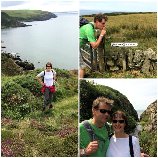 Knockinaam to Portpatrick walk