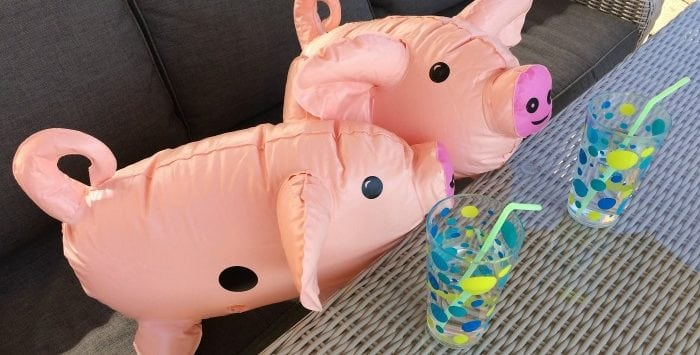 Inflatable Pass the Pigs