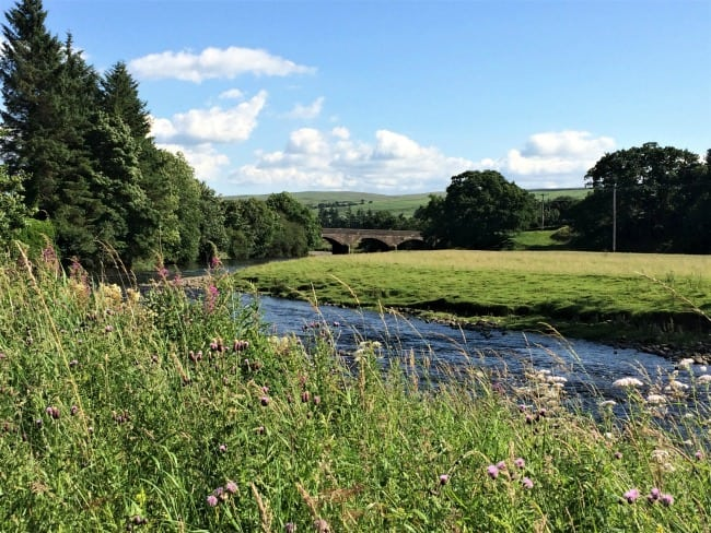 River Nit, Blackaddie Country House Hotel
