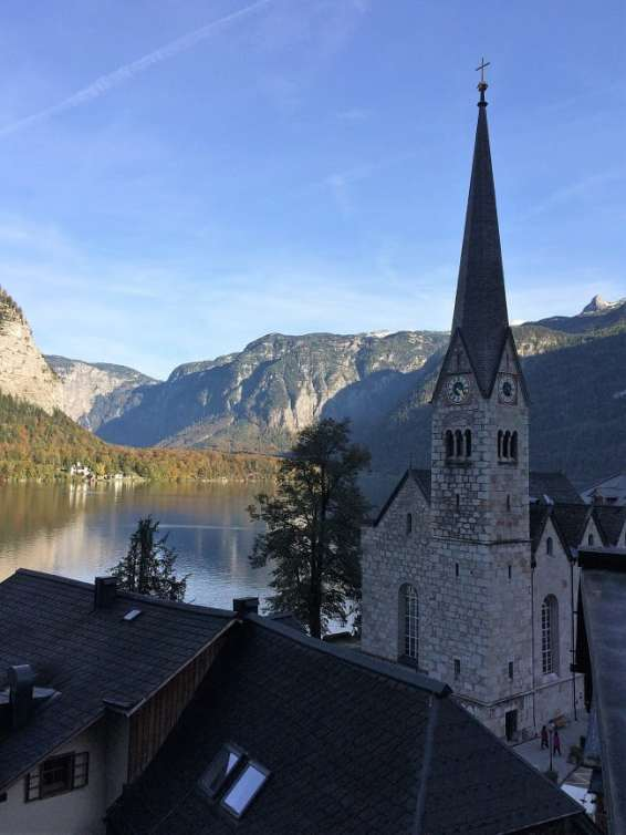 church in Hallstatt
