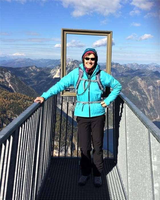 5fingers platform in Dachstein mountains