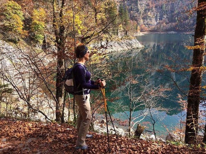 Upper lake in Gosau Austria