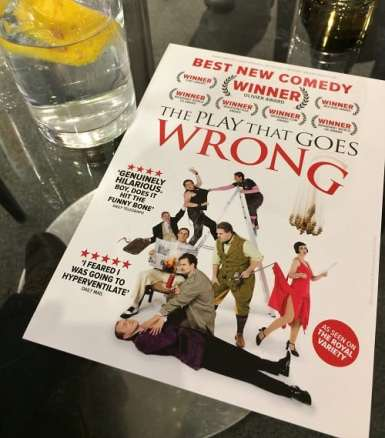 Programme for The Play That Goes Wrong