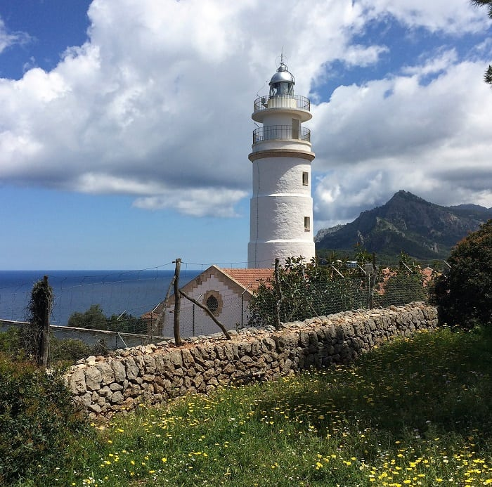 Cap Gros lighthouse in Mallorca