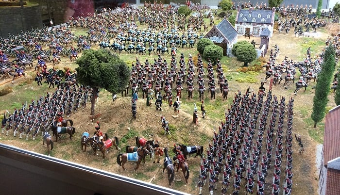 Houghton Hall model soldiers