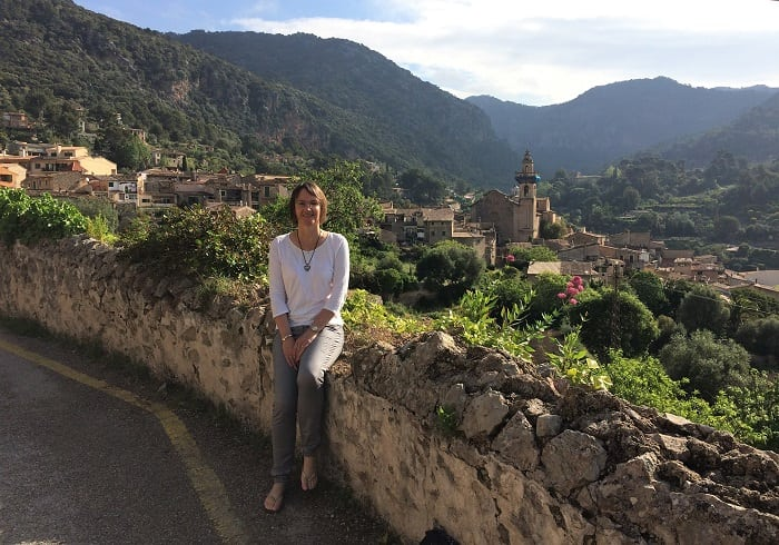 View of Valldemossa, Mallorca