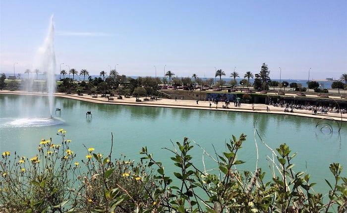 Parc de la Mar in Palma
