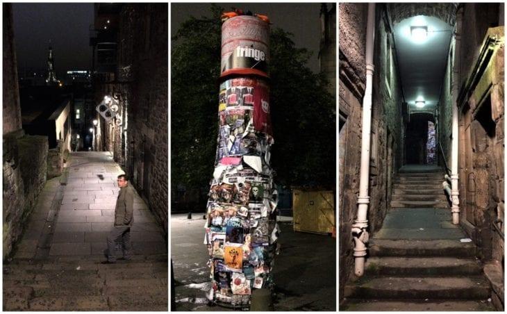 Edinburgh Old Town at night