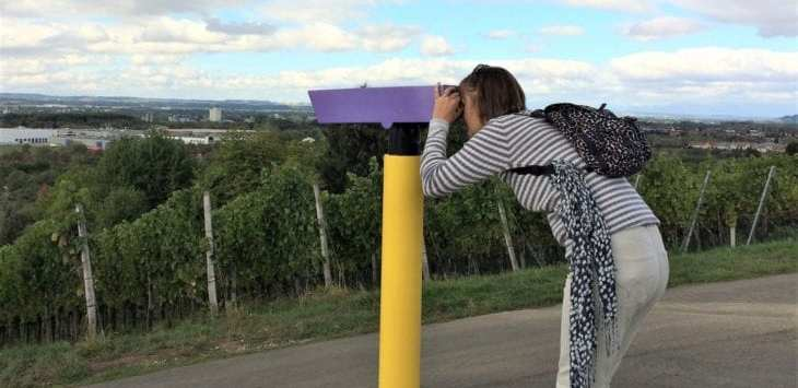 binoculars on 24 stops rehberger weg