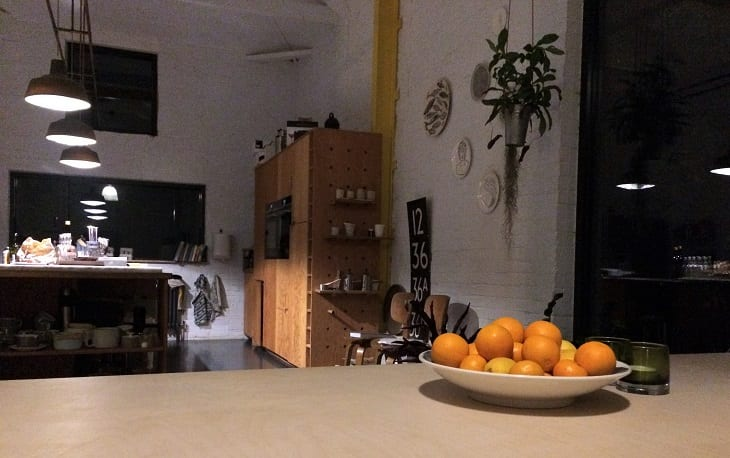 Five acrea barn, litch and communal areas