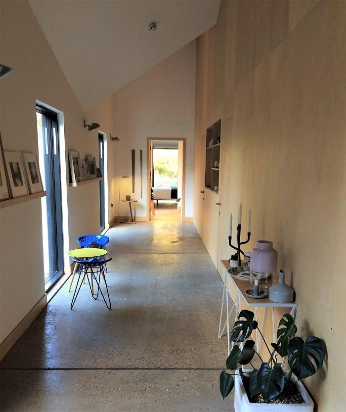 Corridor in Five Acre Barn