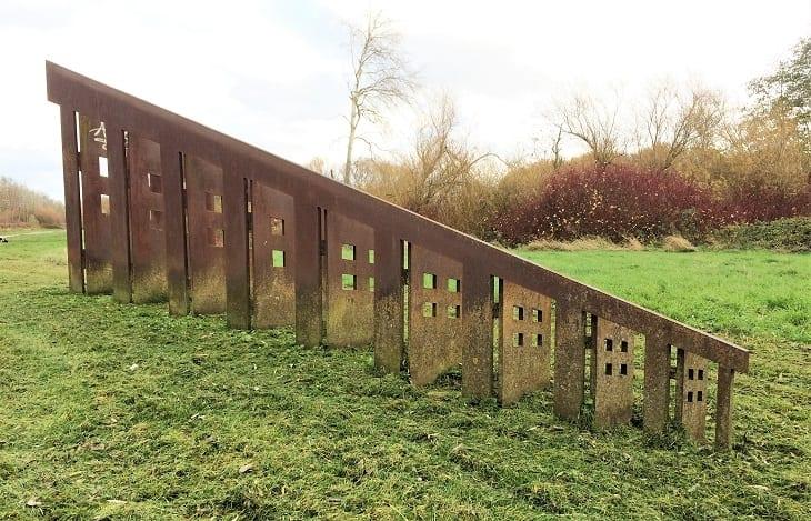 Peterborough sculptures, Miles Davies