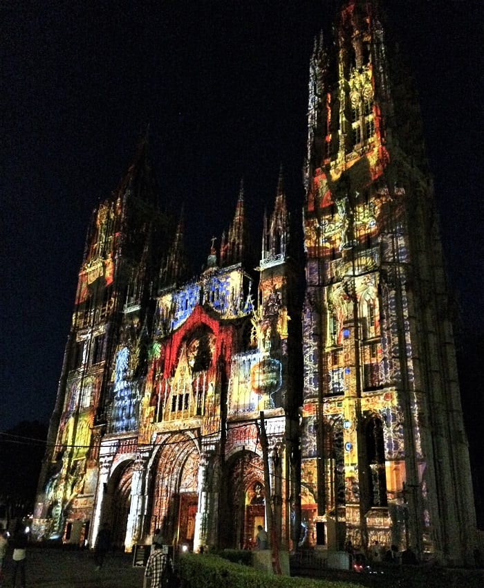 Cathedral of Light, Rouen