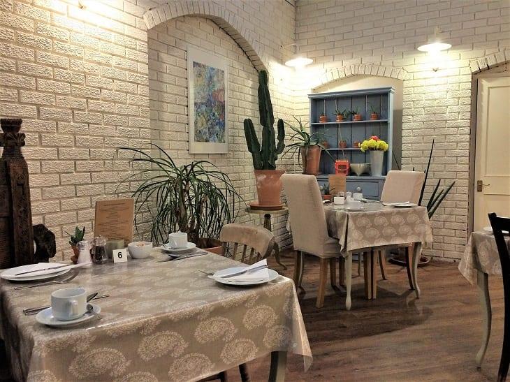 Breakfast room, Parisi hotel, York