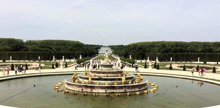 Latona's fountain, Versailles