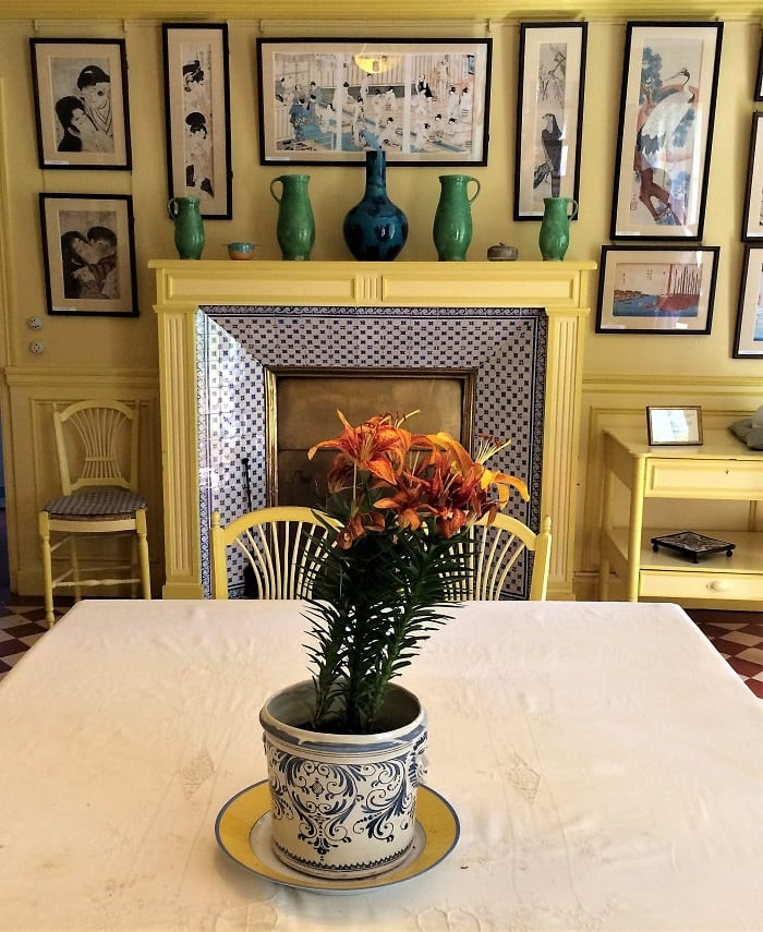 MOnet's dining room, Giverny