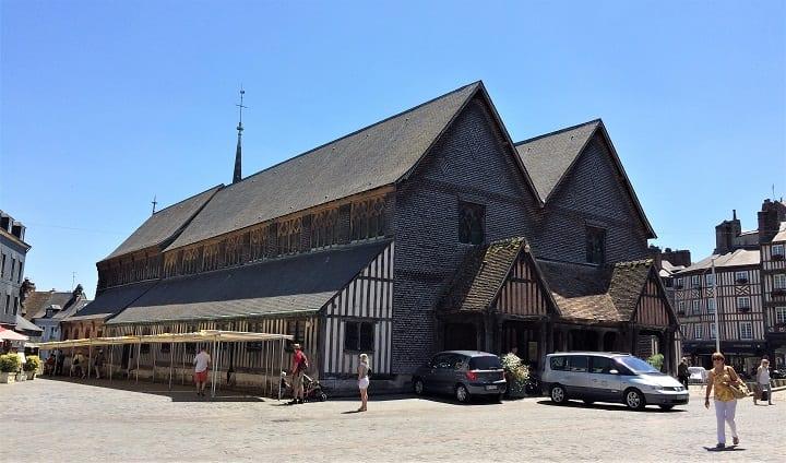 St Catherine church in Honfleur