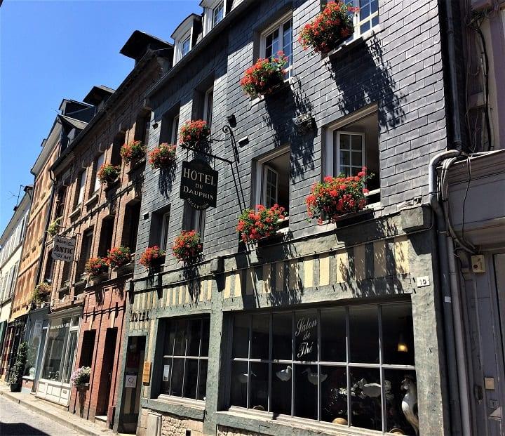 HOtel le Dauphin in Honfleur