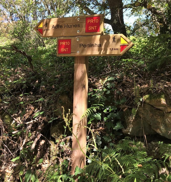 Portugal - trail signs