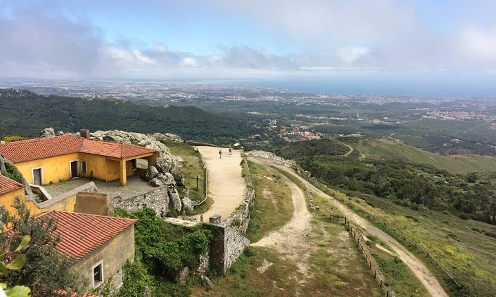 Portugal - view from Peninha chapel