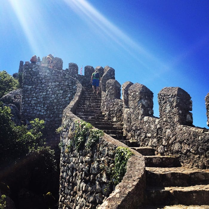 Moorish castle ramparts, Sintra