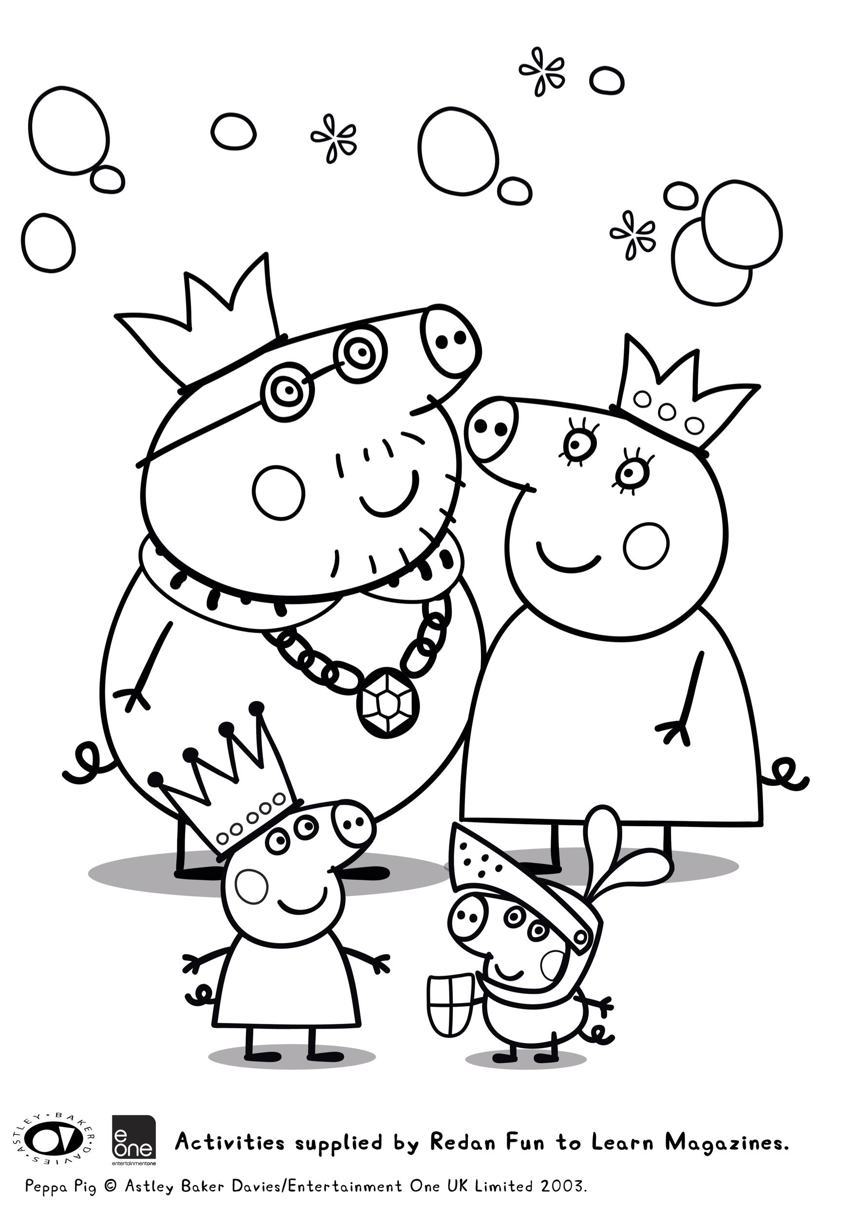 Peppa Pig Colouring In Printables Plus Huge Peppa Pig