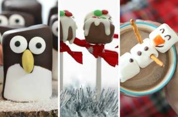 Easy Christmas marshmallow crafts for kids to make, either on their own or with help. These Christmas marshmallow recipes are a super easy way for kids to make their own treats, simple recipes that are easy on the brain bandwidth for stressed out mums trying to get everything ready for Christmas. They are the perfect recipe for keeping the kids happily occupied in the run up to Christmas day... and there may even be some left over to use as gifts... if they haven't all been eaten as they're made!! Click to Take a look at our curation. The criteria for the roundup is that each recipe is easy to follow and wherever possible is one that you can do with your kids or leave older kids to do by themselves.