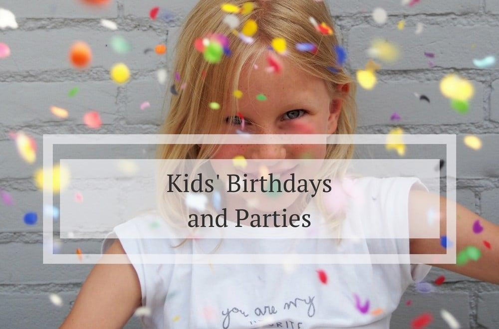 Kids birthday and party ideas #KidsParty #KidsPartyideas #childrensparty #childrenspartyideas