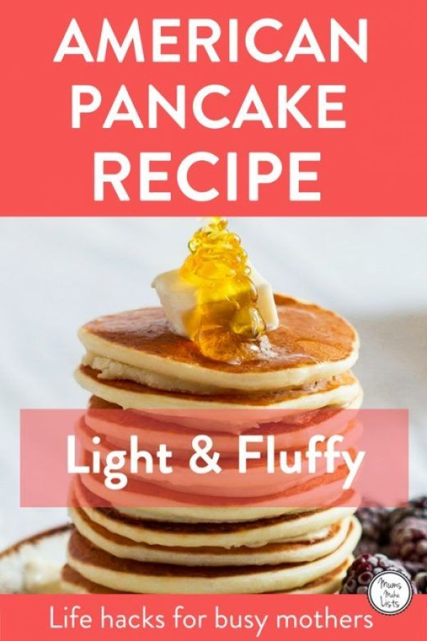 Three Easy Pancake Recipes A Mums Make Lists Life Hack