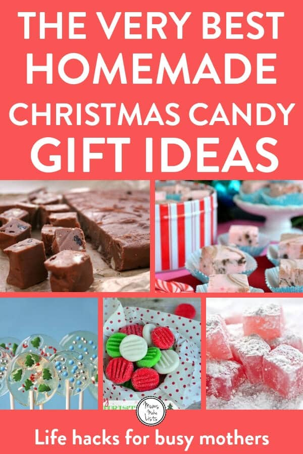 Christmas Candy Gifts