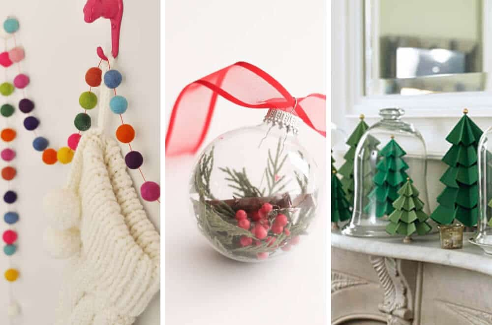 Here are ten gorgeous DIY dollar store Christmas decorations that you can make at home. Each one is easy to make and also cheap, so you won't break the Christmas budget making your home look beautiful this festive season. Take a peak and see which ones you'd like to make #Christmas #ChristmasDecor #ChristmasCrafts #ChristmasMumsMakeLists