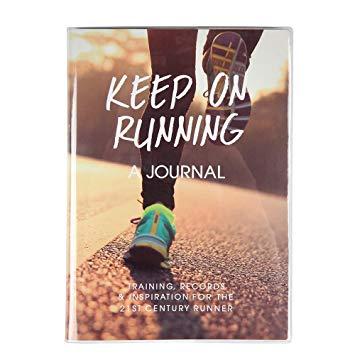 Christmas stocking filler ideas, Keep on running fitness journal