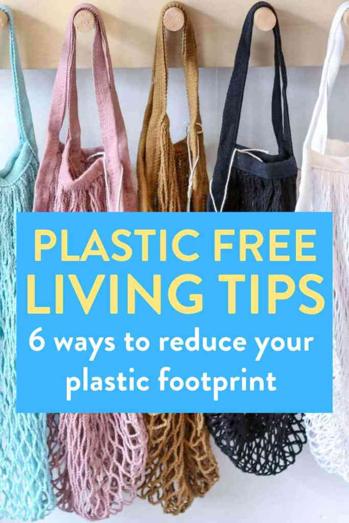 Reduce plastic use, plastic free living tips, ways to reduce plastic, single-use plastic