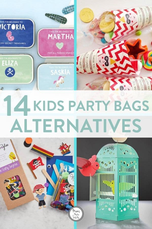 Alternative party bag ideas for kids birthday parties