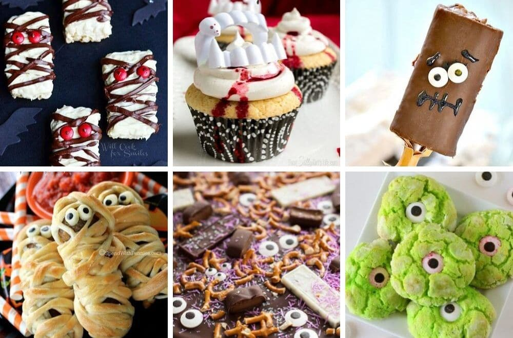 Fast and easy Halloween treats, Halloween party food recipes, Kid friendly Halloween food