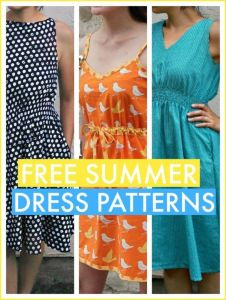 Free summer dress patterns