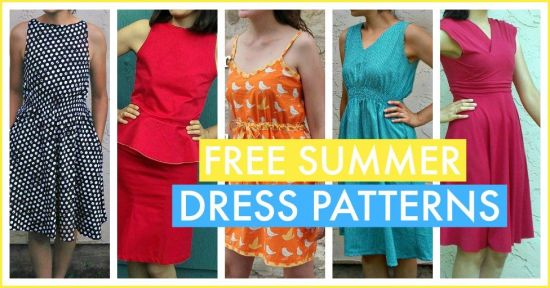 Free summer dress patterns
