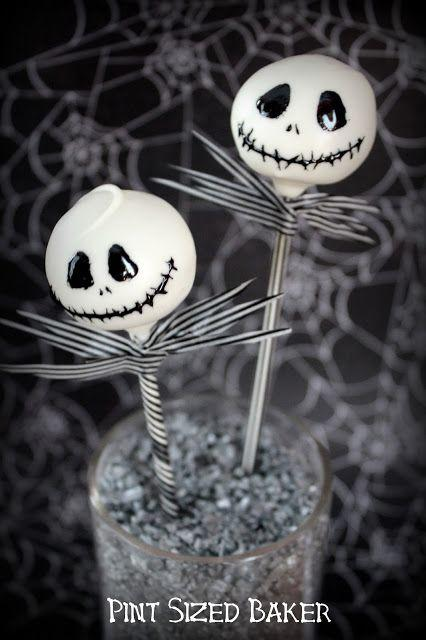 Halloween party food - skull cake pops, simple to make Halloween cake pops, easy Halloween treats