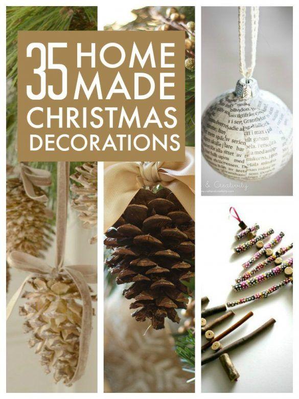 How Make Christmas Decorations Home Easy