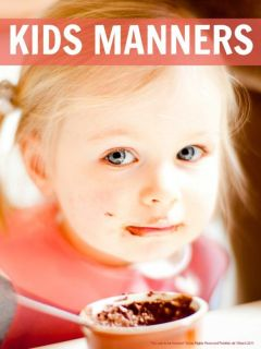 Kids manners ... how to help kids develop good manners that actually build their self awareness and sensitivity to others