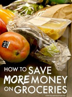 Save more money on groceries ... want to save even MORE money on your weekly groceries? Check out these simple tips that helped us cut our grocery bill even further ...