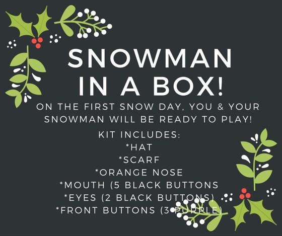 snowman in a box