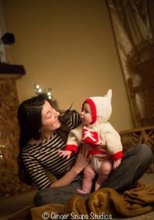 "Christmas 2013 ""Just Us"" - copyright GingerSnapsStudios.com"