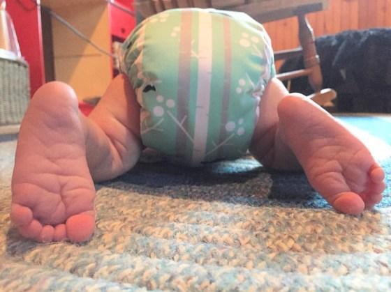 diaper feet