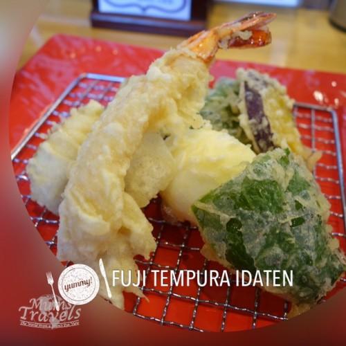 Tempura lunch @ Fuji Tempura Idaten, Kawaguchiko