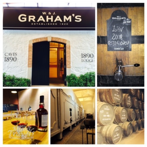 The Graham's 1890 Lodge, a renown working wine cellar in Gaia.