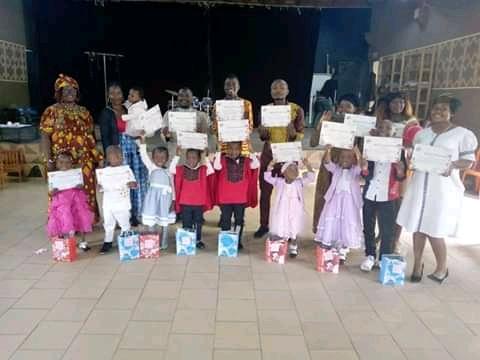 Photo de cloture atelier Vacances pour Enfants