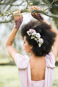21 Natural Hair Styles for Your Wedding Day! |Munaluchi Bride