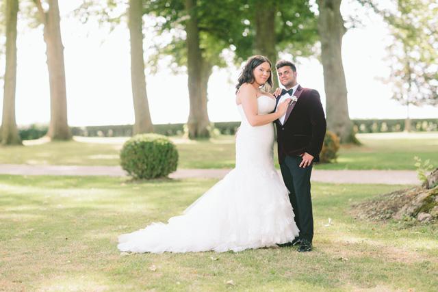 Dreamy Lavender Wedding At The Chateau De Varennes